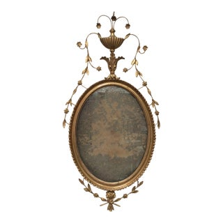 18th Century Antique Neoclassical Mirror For Sale