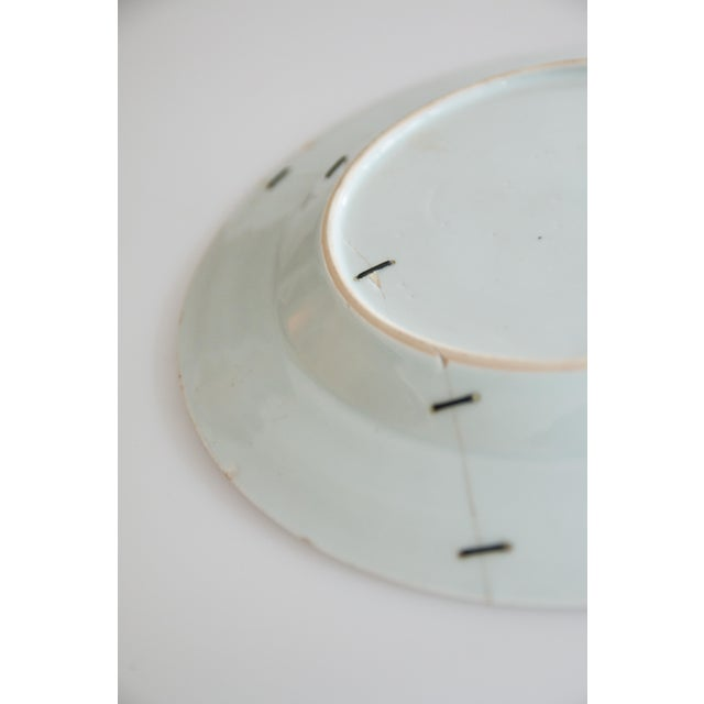 19th-Century Antique Delft Plate Staples Restoration For Sale In Houston - Image 6 of 7