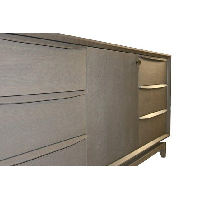 2010s Customizable Orlando Sculpted Handle Credenza For Sale - Image 5 of 10