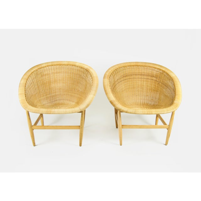 """Mid-Century Modern Nanna Ditzel Vintage """"The Ditzel"""" Chair For Sale - Image 3 of 10"""