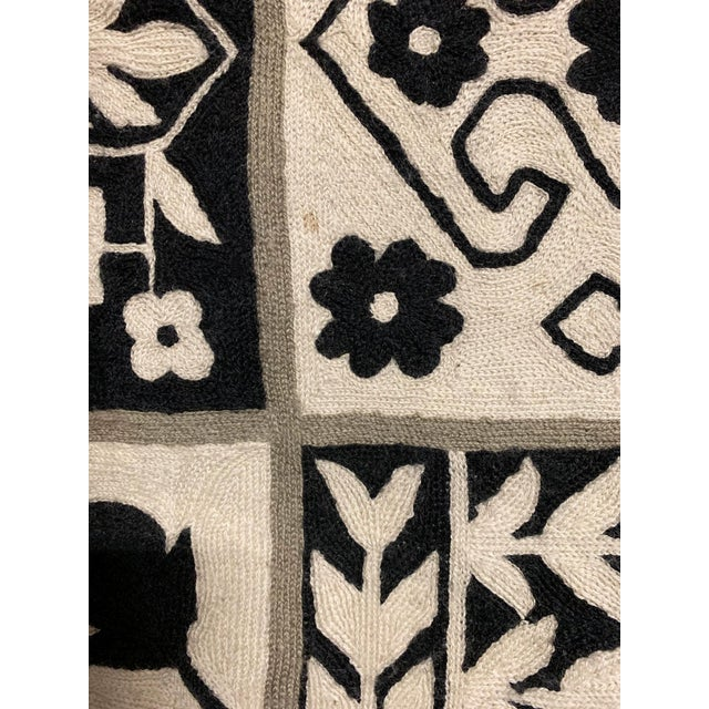 Tribal 1970s Vintage Handwoven Rug - 6′ × 8′10″ For Sale - Image 3 of 11