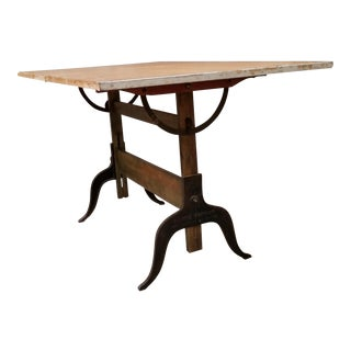 Drafting Table by A. Lietz Manufacturing Company For Sale