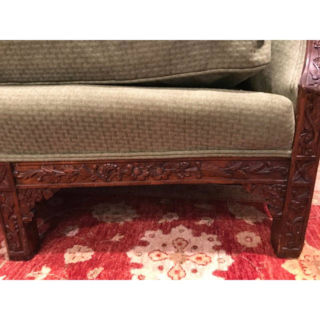 Chippendale Carved Mahogany Sofa - Image 9 of 11