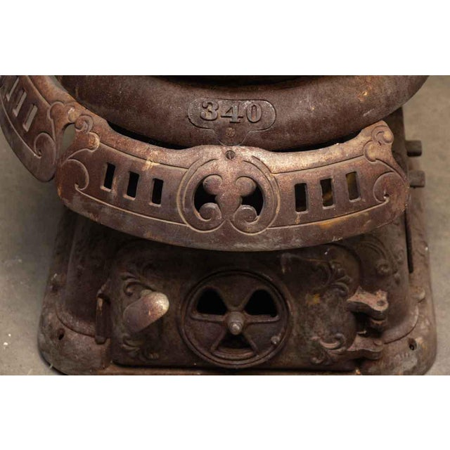 Antique Oak Bengal Stove For Sale - Image 12 of 13