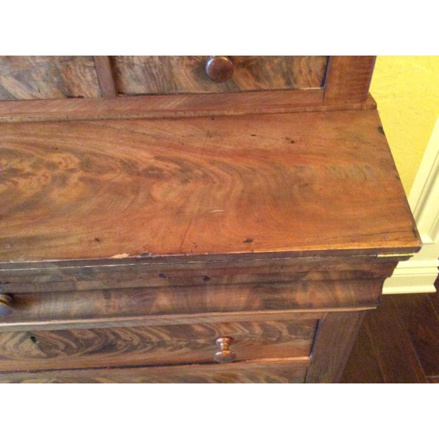 18th Century Antique Writing Cupboard For Sale - Image 6 of 11