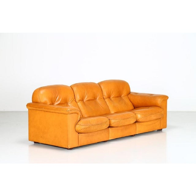 DeSede Leather Sofa For Sale In New York - Image 6 of 6
