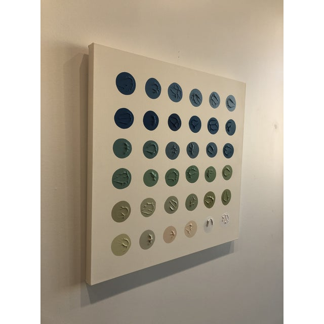 Contemporary 'River Water' Minimalism Painting by Logan Ledford For Sale - Image 3 of 7