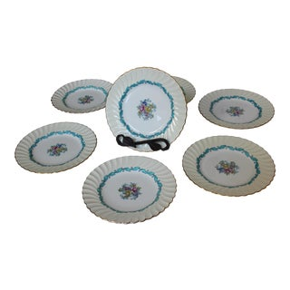 Minton Ardmore Cream and Turquoise Dinnerware - 31 Pc. Set
