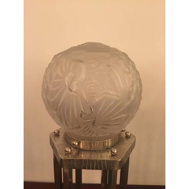 Muller Frères Signed French Art Deco Table Lamps - A Pair - Image 2 of 7