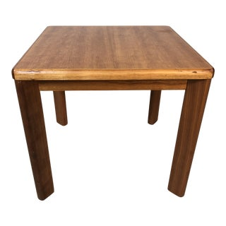 1970s Danish Teak Small Side Table For Sale
