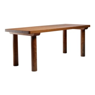 Charlotte Perriand Pine Les Arcs Table, France, 1960s For Sale