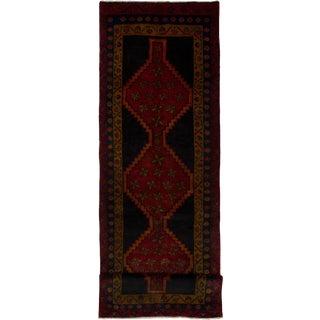 "Meshkin Vintage Persian Rug, 3'8"" x 12'7"" feet"