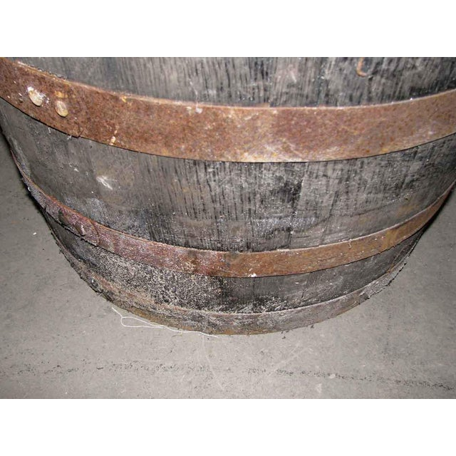 Antique Wine Barrels Cut To Make Buckets Chairish