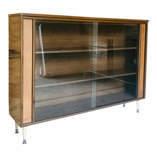 1960s Mid-Century Modern Tv Media Console Stand For Sale