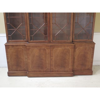 Karges English Style Large Mahogany Breakfront Preview