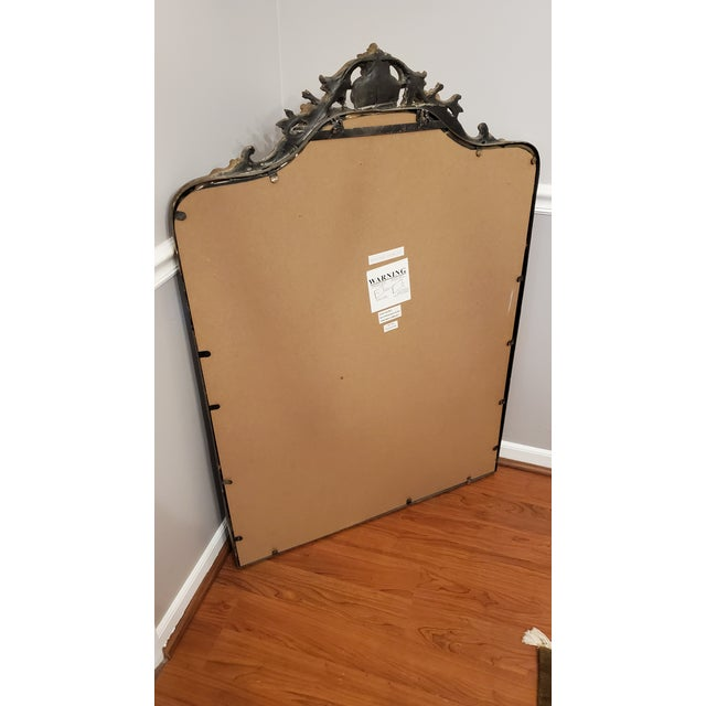 French Vintage Ballard Designs Wall Mirror For Sale - Image 3 of 6