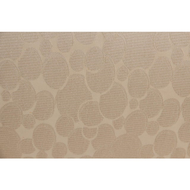 "Fabric James Mont Style Ming Sofa in Ivory ""Champagne Bubble"" Fabric For Sale - Image 7 of 8"