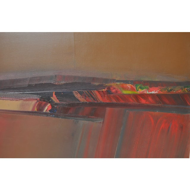 Don Clausen Abstract Expressionist Painting C.1980 - Image 5 of 7
