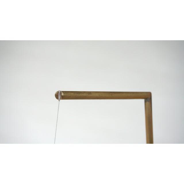 Aaron Silverstein 'Brass Goose Deuce' Sculpture For Sale - Image 4 of 7