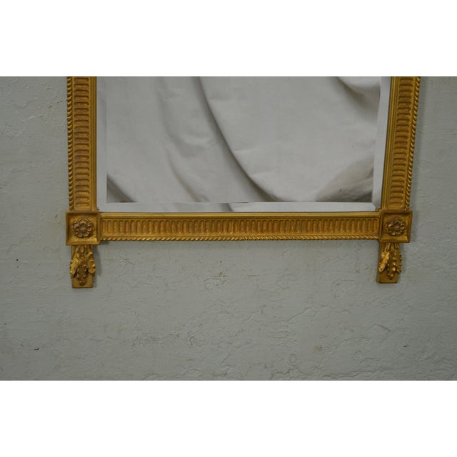 Carvers Guild French Louis XV Style Gilt Frame Beveled Wall Mirror For Sale In Philadelphia - Image 6 of 10