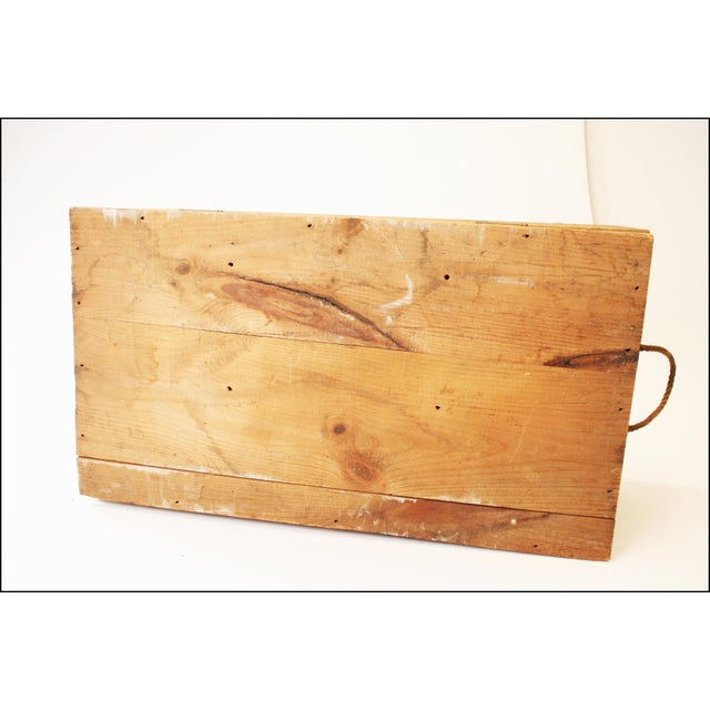 Vintage Rustic Underwood Typewriter NYC Wood Storage Crate - Image 8 of 11