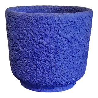 1970s Silberdistel 'Yves Klein Blue' Volcanic Cachepot 0/17 For Sale