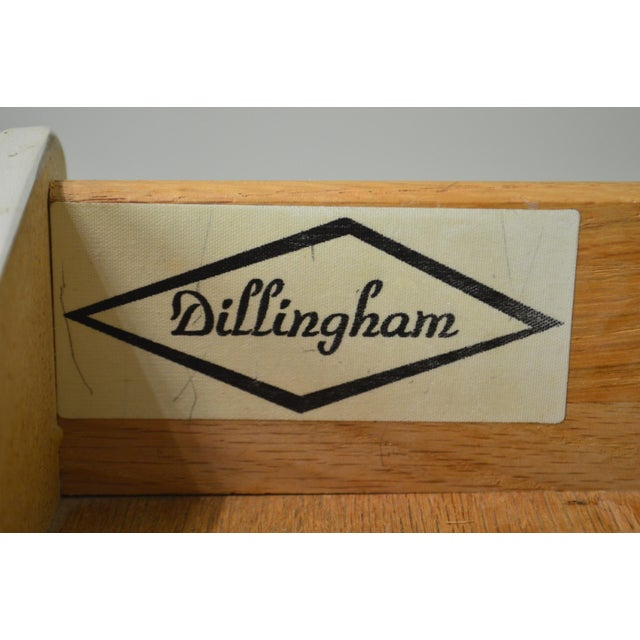 Milo Baughman for Dillingham Mid Century Modern Walnut Nightstand For Sale - Image 10 of 13
