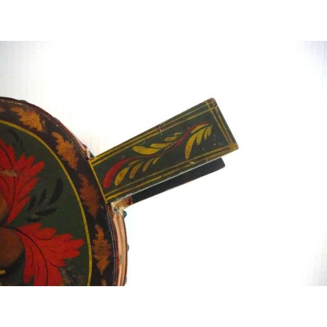 Fantastic 19thc Paint Decorated New England Bellows For Sale - Image 4 of 8