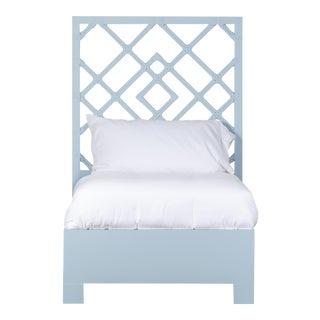 Darien Bed Twin - Blue For Sale