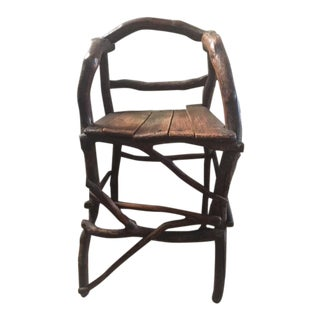 1910s Vintage Root High Chair For Sale