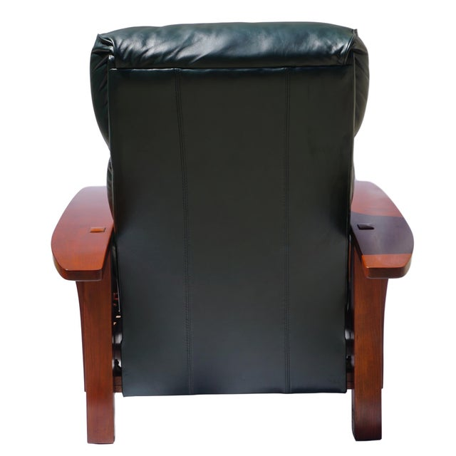 2000s Stickley Morris Bustle Back Bow Arm Recliner For Sale - Image 5 of 12