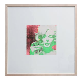 Original 1968 Marilyn Monroe Serigraph For Sale