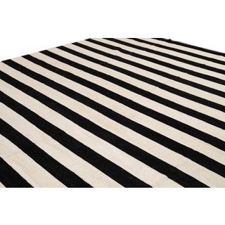 Apadana 21st Century Contemporary Striped Kilim Rug Preview