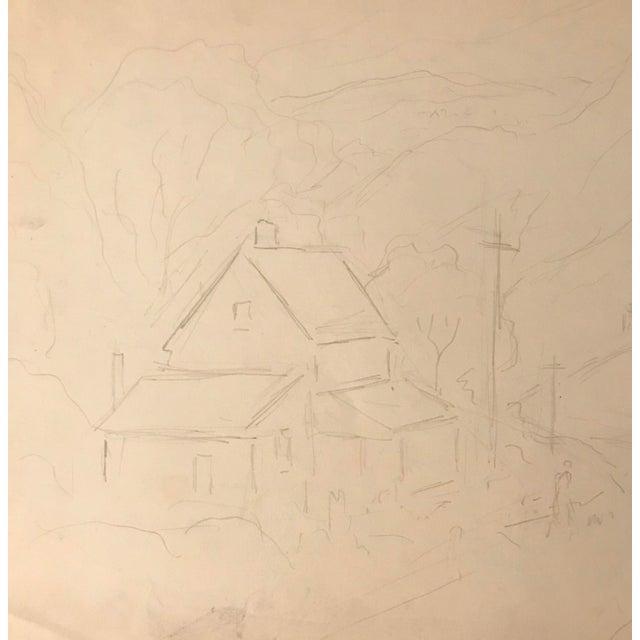 Eliot Clark (1890-1980) Kent, Connecticut Landscape