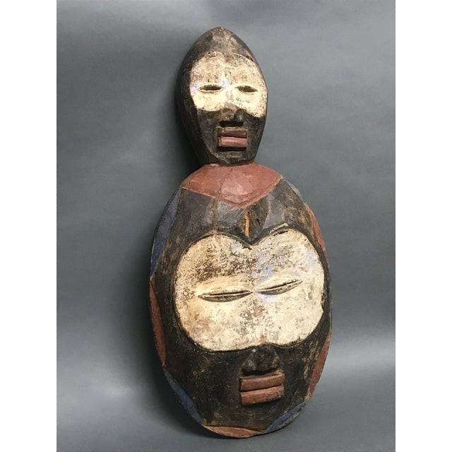 2000 - 2009 African Tribal Art Kwele Mask For Sale - Image 5 of 7