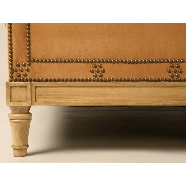 Custom Old Plank Upholstered Daybed For Sale In Chicago - Image 6 of 9