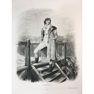 1892 Antique Character From a Charles Dickens's Novel Photogravure Print For Sale