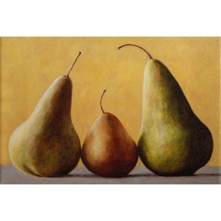 """Bill Chisholm, """"Pair of Pears"""", Print on Canvas For Sale"""