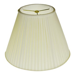 Vintage Tapered Pleated Fabric Lamp Shade