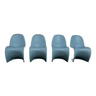 Vintage Mid Century Verner Panton Chairs - Set of 4 For Sale