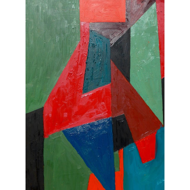 Contemporary Painting, Abstract Geometry For Sale In Los Angeles - Image 6 of 8