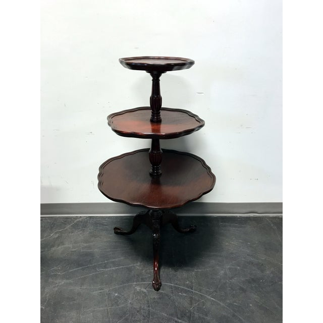 Vintage Mersman 3-Tier Mahogany Table - Image 3 of 10