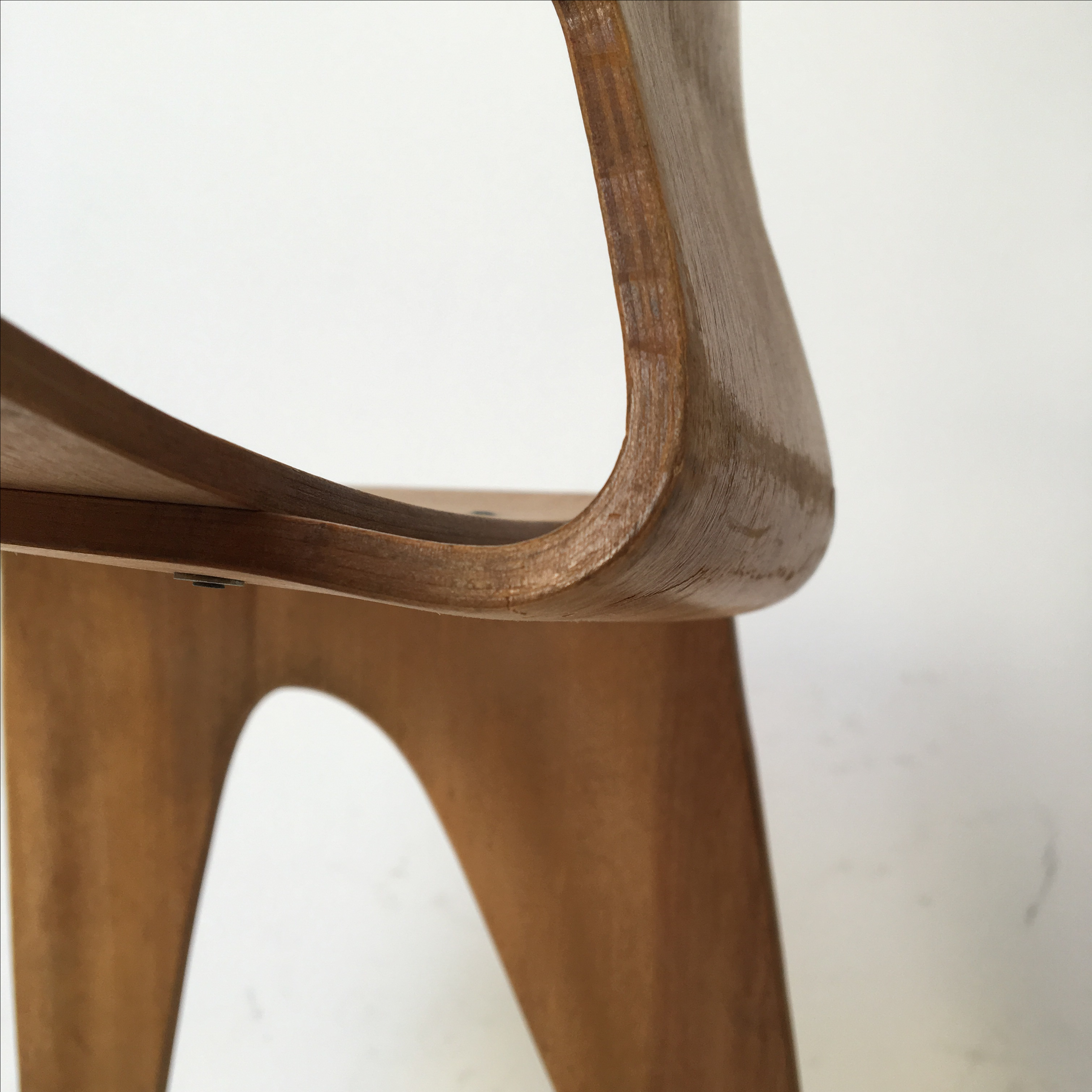 Vintage Eames Molded Plywood Child Chair For Sale In San Francisco   Image  6 Of 11