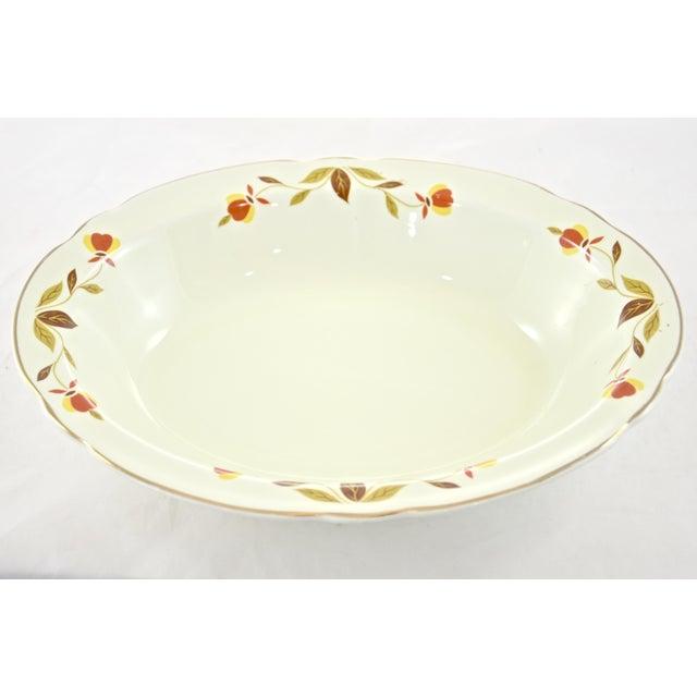 Leaf & Vine Oval Bowl - Image 2 of 5