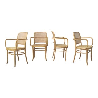 1980s Vintage Prague Dining Chairs - Set of 4 For Sale