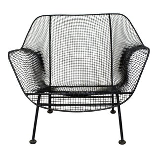 Mid-Century Danish Modern Russell Woodard Sculptura Outdoor Lounge Chair For Sale