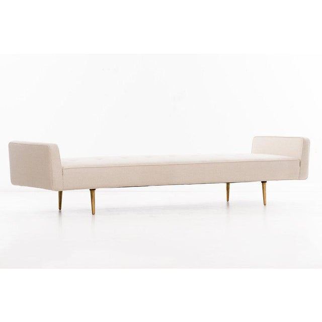Mid-Century Modern Edward Wormley Long Bench For Sale - Image 3 of 12