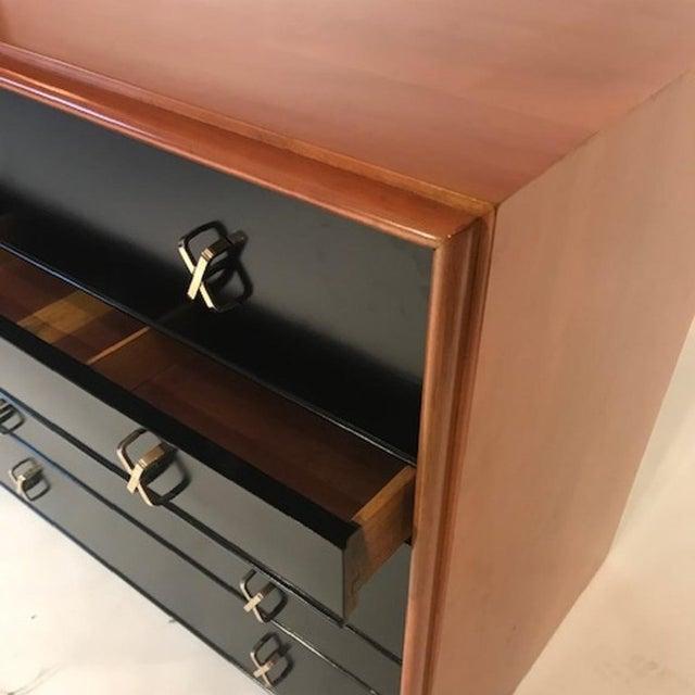 John Stuart Paul Frankl for Johnson Furniture John Stuart Ten Drawer X Pull Dresser Chest For Sale - Image 4 of 8