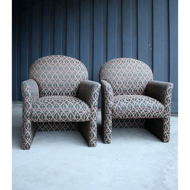 1980s 1980s Contemporary Armchairs, Set of 4 For Sale - Image 5 of 13