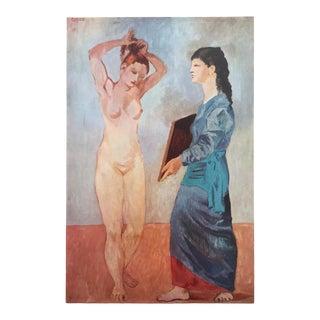 """Pablo Picasso Vintage 1952 Authentic Lithograph Print """" La Toilette """" 1906 For Sale"""